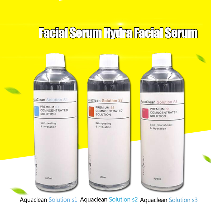 Aqua Peeling Solution 400ml / Bottle AS1+SA2+AO3 Aqua Facial Serum Hydra Facial Serum For Normal Skin DHL Shipping