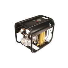 4500psi 300bar alta pressão duplo cilindro pcp compressor de ar com óleo separador água para rifle pneumático scuba 110v 220v