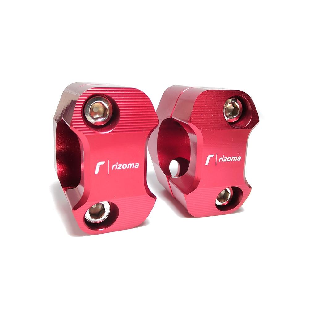 HandleBar Fat Bar Risers Mount Clamp Adapter 7/8   1 1/8 Universal Solid Mounts fit Motorcycle MX Enduro CRF YZF KXF|Handlebar| |  - title=