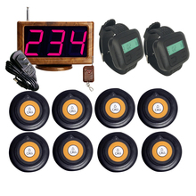 Led-Display-Receiver Restaurant-Equipments Watches Calling-System 8-Buttons-Transmitter