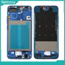 Netcosy Voor Huawei Honor 10 Midden Frame Plaat Bezel Behuizing Met Side Key Voor Huawei Honor 10 Bezel Plaat voor Honor 10