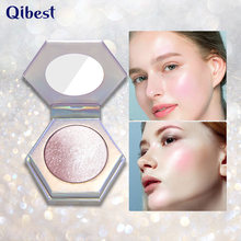 1 Pc Brand Mineral Powder Hilighter Matte Pearl Finishing Powder Pressed Repair Blush Face Contour Facial Bronzers Palette TSLM2(China)