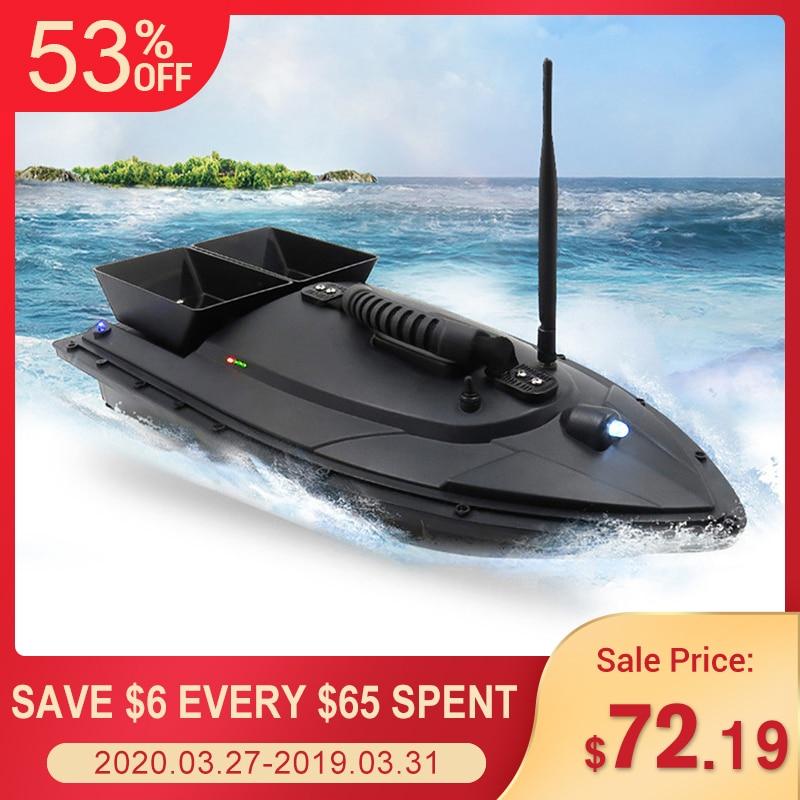 Flytec 2011 5 / V007 / V500 Electric Fishing Bait RC Boat 500M Remote Fish Finder 5.4km/h Double Motor Toys Kit / RTR Version|RC Boats| |  - title=