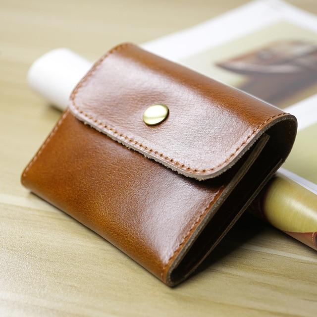 Handmade Genuine Leather Wallet