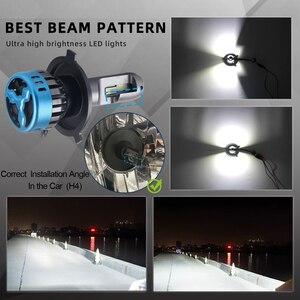 Image 3 - Lâmpada de farol automotivo led, h1, h4, h8, h11, hb3, 9005, hb4, 9006, h7, feixe hi/baixo farol de led h11 h4 para carro 12v, lâmpada de neblina