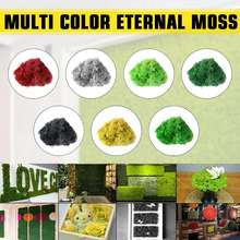 7 Colors Artificial plant eternal life moss / Garden home decoration wall DIY Flower material Mini Garden Landscape Accessories