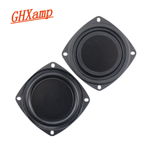 NEUE 2 stücke 3 Zoll 78MM Bass Heizkörper Passive Lautsprecher Für 2 5 Zoll Hausgemachte Bluetooth Lautsprecher Hilfs niedrigen Frequenz Gummi DIY