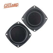 Nouveau 2 pièces 3 pouces 78MM basse radiateur haut parleur passif pour 2 5 pouces maison Bluetooth haut parleurs auxiliaire basse fréquence en caoutchouc bricolage