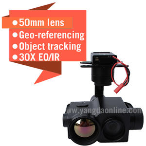 Zoom-Camera Gimbal Surveillance-Search Lens Dual-Sensor Uav IR for Drone-Inspection And