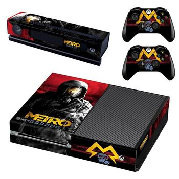 Metro Exodus Skin Sticker Decal Full Cover For Xbox One Console & Kinect & 2 Controllers For Xbox One Skins Stickers Vinyl 2