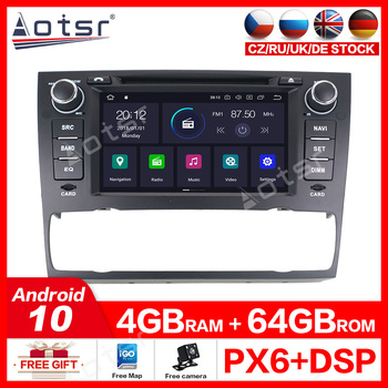 4G 64G IPS DSP Car Multimedia dvd Player Android 10 GPS autoradio for BMW/3 Series/E90/E91/E92/E93/320/328 CAR Radio Stereo OBD2 image