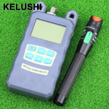 KELUSHI FTTH 1/10/20/30mW Visual Fault Locator Fiber Optic Optical Power Meter Handheld Fiber Optic Tester Pen Type 1-30km