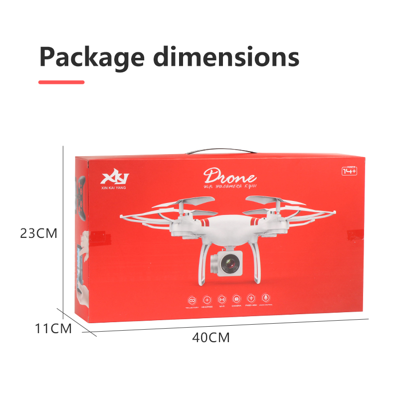 Image 4 - 2019 New Drone 4k camera HD Wifi transmission fpv drone air pressure fixed height four axis aircraft rc helicopter with camera-in RC Helicopters from Toys & Hobbies
