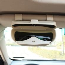 Автомобильные очки коробка для хранения Подставка солнцезащитные очки чехол для dacia Sandero STEPWAY Dokker Logan Duster Lodgy