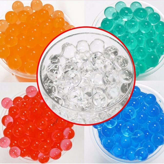10000pcs Soft Crystal Water Bullet Toy Gun Accessories 6mm Pistol Bullet Toy Tactical Plastic Crystal Water Bullet Bomb