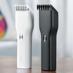 Męska elektryczna maszynka do strzyżenia włosów trymer USB ceramiczna maszynka do włosów szybkie ładowanie włosów dla dorosłych maszynki do strzyżenia dla dzieci prezenty świąteczne dla mężczyzn