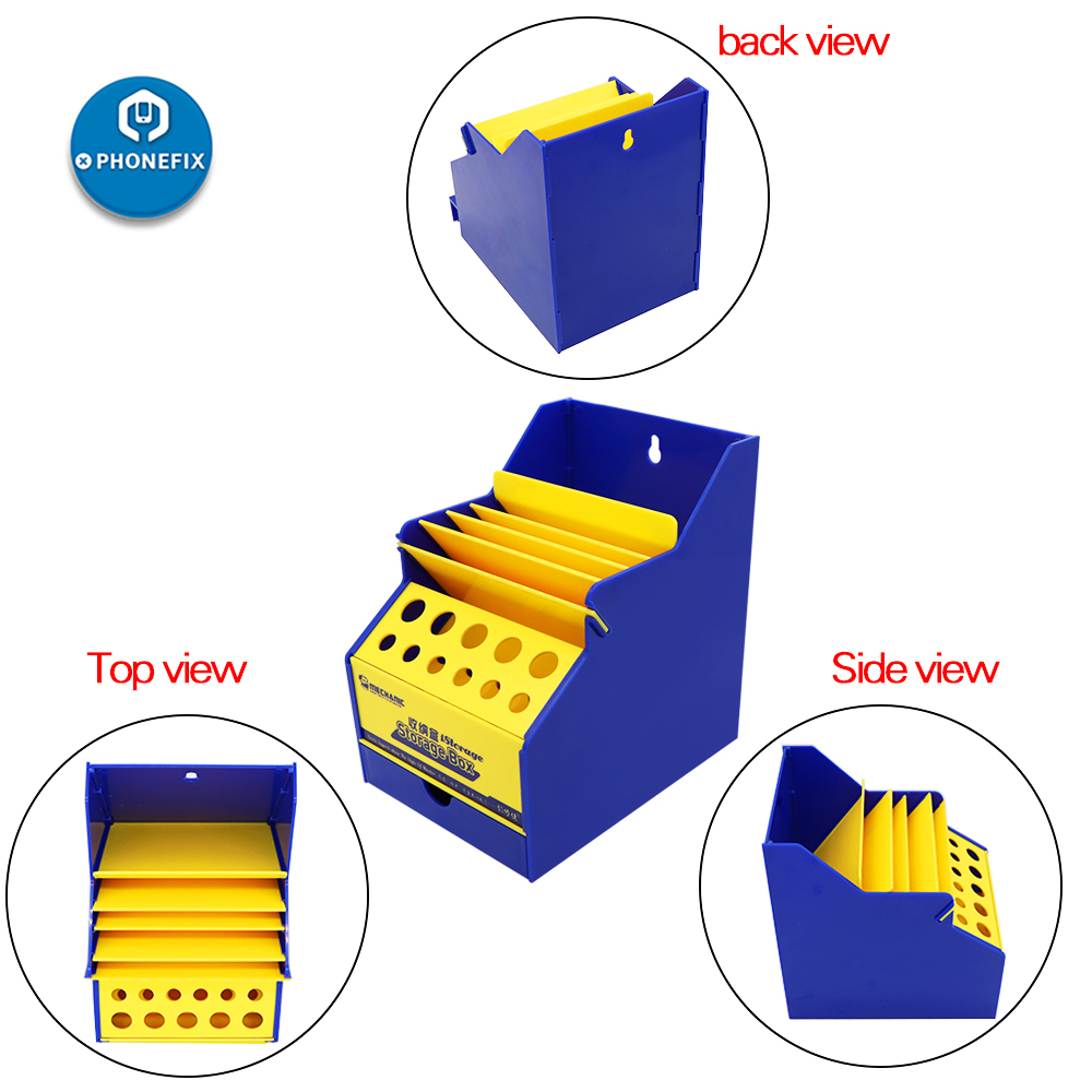 Mechanic Tools Storage Box Office Desktop Helpers Maintenance Classification Storage Holder Screwdriver Toolbox With Drawer