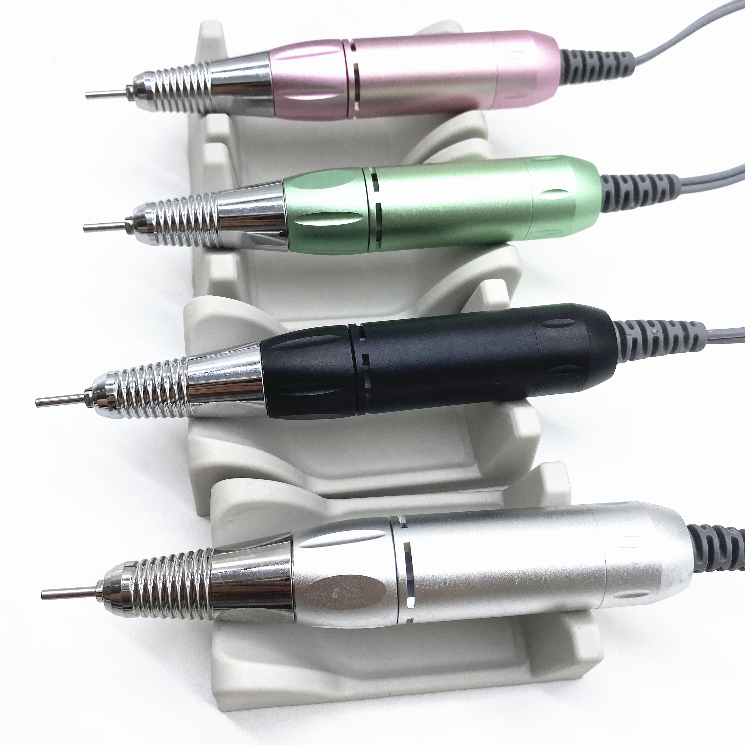 35000 об/мин, лак для ногтей, сверлильный станок для маникюра, фрезер для ногтей, сверлильный прочная ручка наконечника для Электрический Фрез...