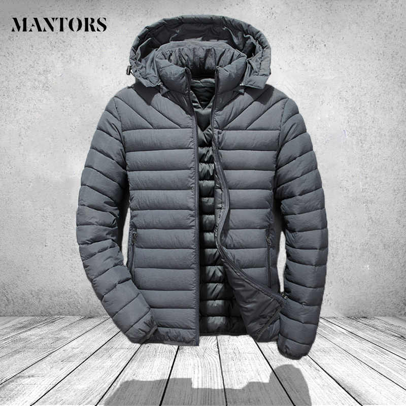 Autumn New Arrival Men Casual Solid color Coat Fashion Hoodies Brand Warm Winter Duck Down Jacket Oversize Spring Clothes