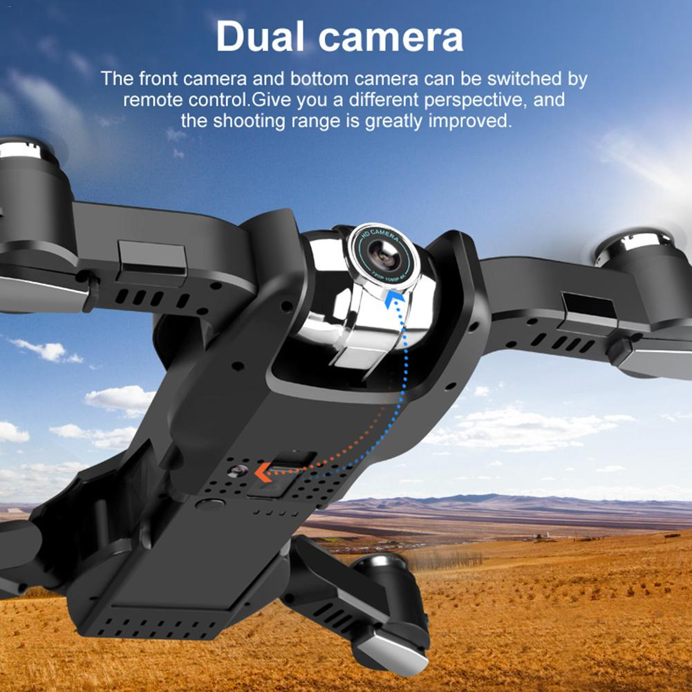 Maliyaw Drone S5 4k Quadrotor Toys Helicopter Drone RC Helicopter Drone con c/ámara C/ámara de Video en Vivo