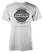 Gallifrey No los dioses o reyes sólo Timelords camiseta adulto(China)