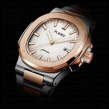 Pladen Бизнес Топ Брендовые Часы Для мужчин часы Полный Нержавеющаясталь