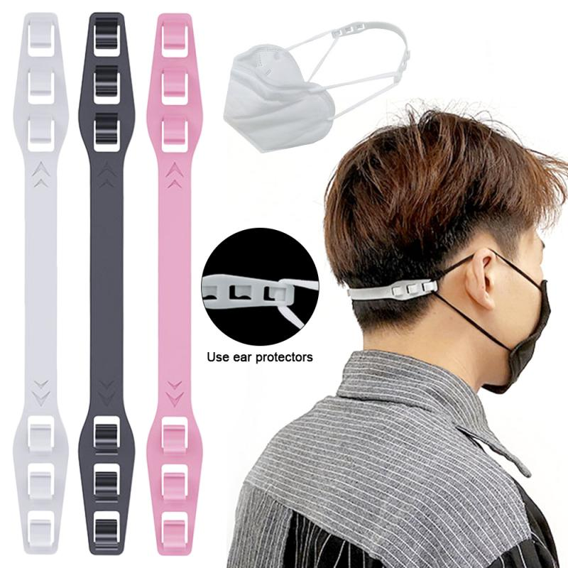 3PCS Universal Disposable N95 KN95 Mask Dust Masks Artifact Anti Lock Mask Buckle Ear Protection Mask Hook Ear Pain Prevention