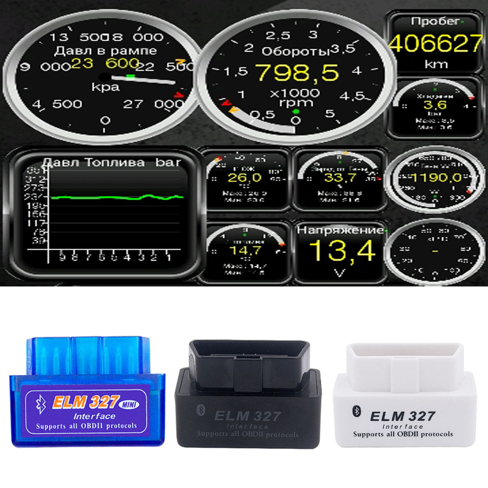 Mini OBD2 Scanner V2.1 ELM327 For Mazda 3 6 <font><b>2</b></font> CX5 CX8 CX9 OBDII Scanner ELM <font><b>327</b></font> Scanner Adapter Bluetooth Car Diagnostic Tool image