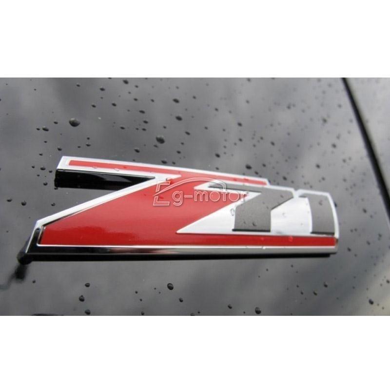 빨간 아 BS Z71 4x4 상징 기장은 Chevrolet Silverado 1500 / GMC - 외부 자동차 액세서리 - 사진 3