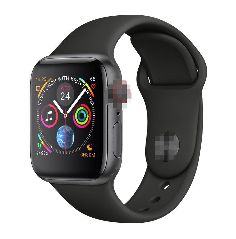 IWO 8 PLUS smart watch tętna bezprzewodowa ładowarka SmartWatch 44MM bransoletka seria 4 aktualizacji dla Iphone telefonu z systemem android w Inteligentne zegarki od Elektronika użytkowa na AliExpress - 11.11_Double 11Singles' Day 1