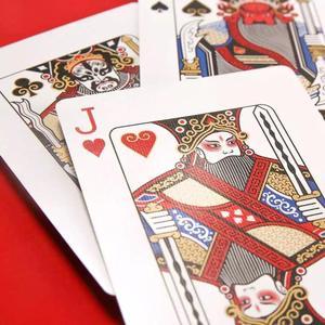 Image 3 - Xiaomi Mijia Youpin Пекинская опера Фейсбук покер китайское наследие вторжение развлечение и досуг игры портативные