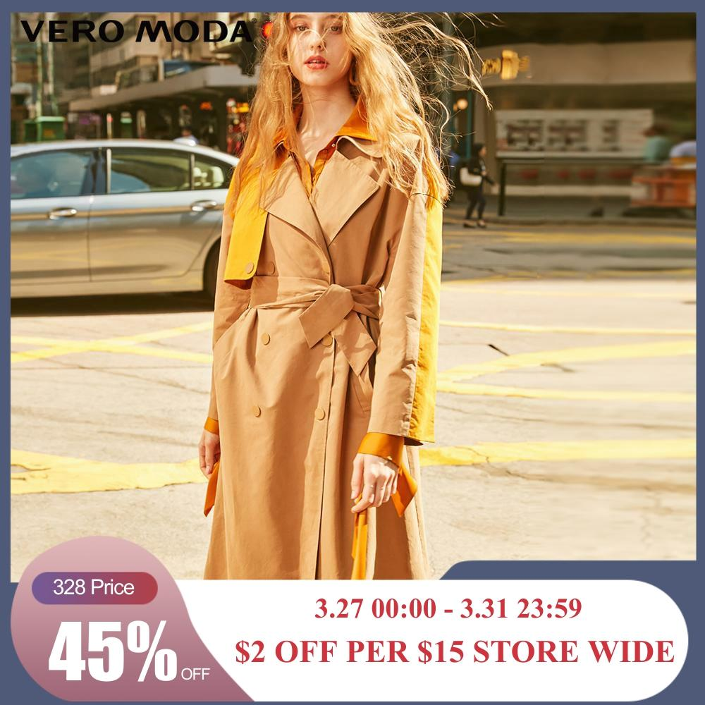 Vero Moda Women's Lapel Assorted Colors Straight Fit Mid-length Trench Coat | 319121508