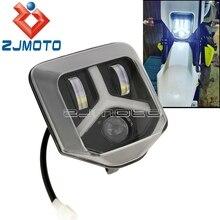 Dual Sport Enduro LEDไฟหน้าด้านหน้าวิ่งสำหรับTE FE 150 250 300 450 501 701 Supermotoไฟหน้า