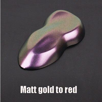 Премиум матовая/блестящие Меняющие цвет с перламутровым блеском виниловая наклейка на машину весь корпус обёрточная пленка Алмазный Блеск для винилового пленки - Color Name: Matt red gold