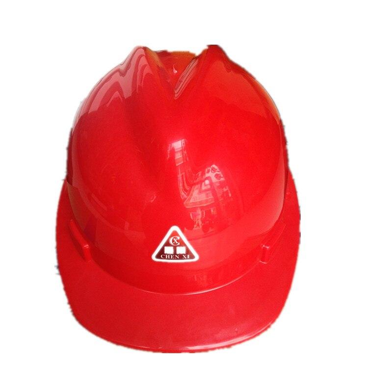 Supply General Plastic Safety Helmet V Shaped Plastic Safety Helmet Work Site Safety Helmet