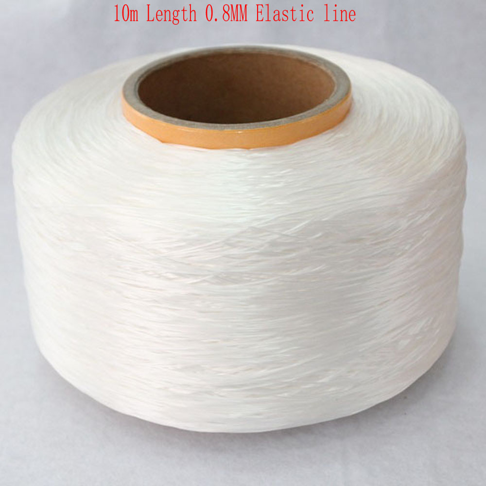 Jewelry-Making-Accessory Beading Stretch-Cord DIY 10m/Roll Elastic-Line Oblate