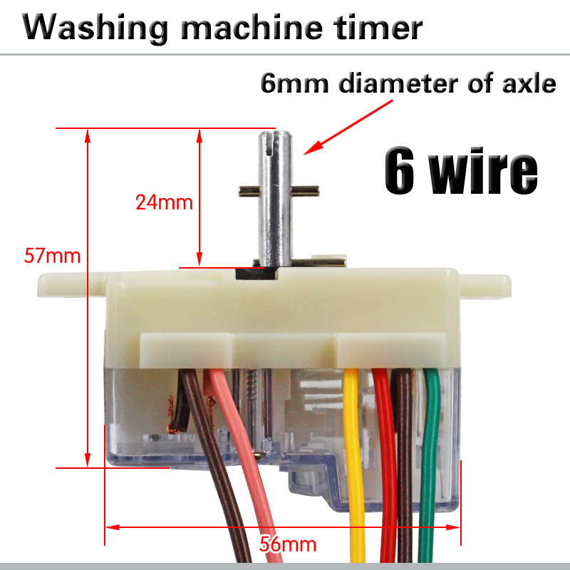 [SCHEMATICS_48IS]  6 wire 180 degree washing machine timer Washing machine timer switch Wash  timer Semi automatic double cylinder washing machine| | - AliExpress | Wiring Diagram Of Washing Machine Timer |  | www.aliexpress.com
