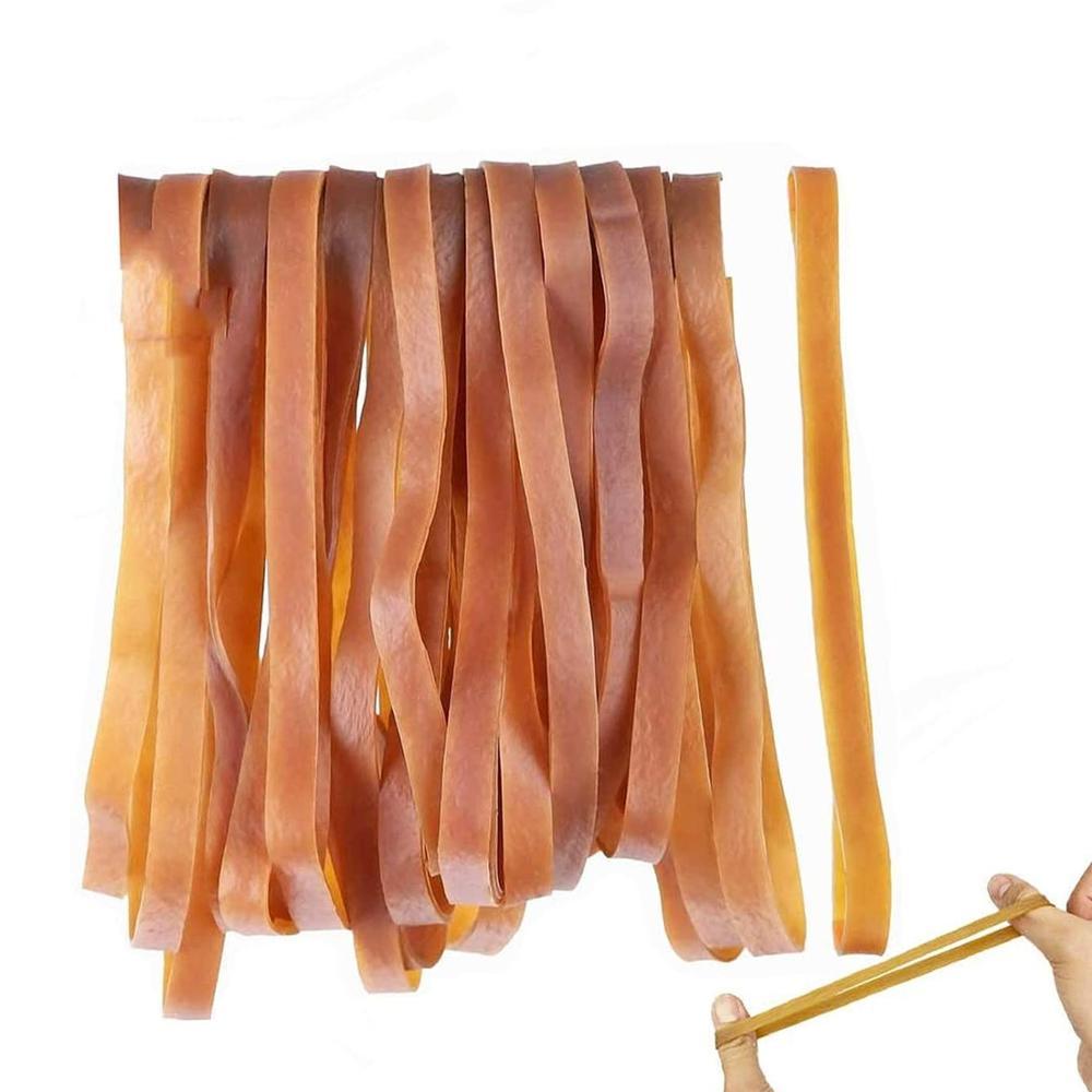25 шт. большие резиновые ленты эластичные ленты для домашнего офиса мусорное ведро, папки для файлов, коробка для мусора|Резинки|   | АлиЭкспресс