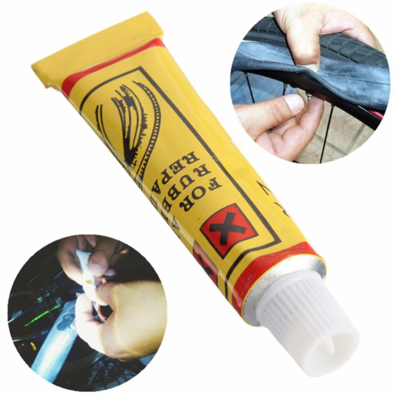 1pc/5pcs/Lot 8 ML Bicycle Tire Repair Road Mountain Bike Tyre Inner Tube Puncture Repair Rubber Cement Cold Glue Bike Tire Patch