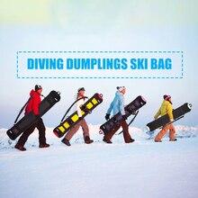 Bolsa de Snowboard bolsa de esquí resistente a los arañazos Snowboard bolsa de transporte Monoboard placa Monoboard funda de protección duradera Snowboard