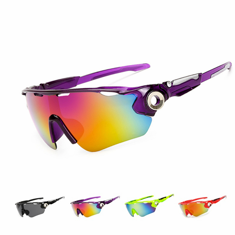 UV400 Cycling Glasses Windproof Men Women Bicycle Bike Sports Cycling Sunglasses Eyewears Safety Goggle Colorful Oculos Ciclismo