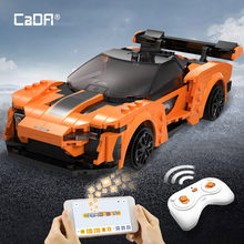 Cada techniczne APP programowanie zdalne sterowanie sportowe samochodowe klocki budowlane miasto RC pojazd samochód wyścigowy cegły prezenty zabawki dla chłopców