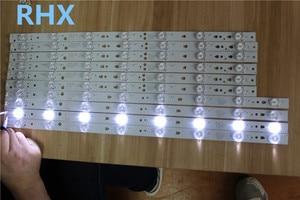 Image 1 - 10 أجزاء/وحدة ل LE48M33S LCD شريط إضاءة خلفي LED48D8 ZC14 01(C) LED48D7 303480082