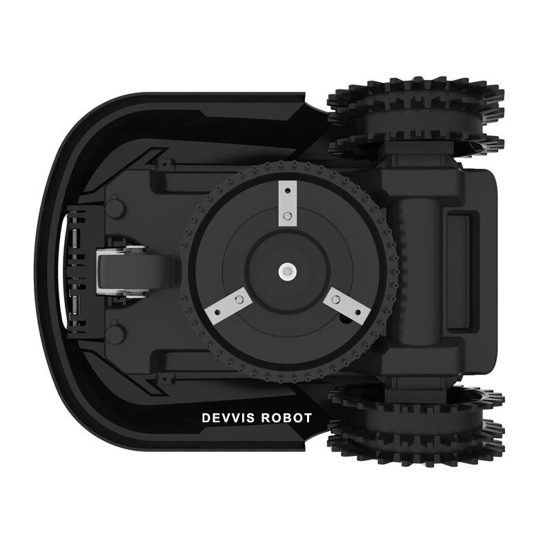 Die 7th Günstigste Mini Roboter Rasenmäher H750 mit WIFI APP, Gyroskop Navigation, Wasser proofed ladegerät, subarea + Bereich Funktion - 5
