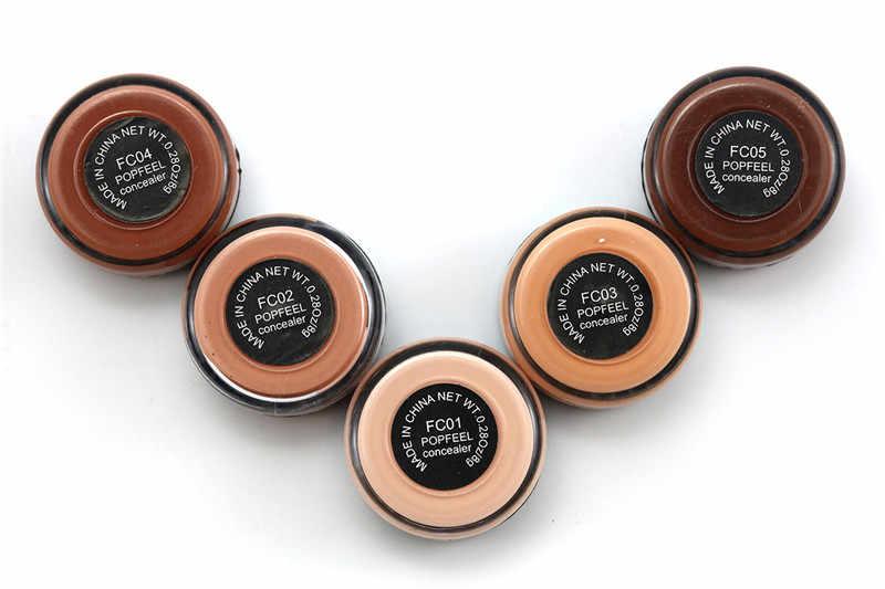 Popfeel Copertura Completa Concealer Hide Blemish Crema di Trucco Viso Lip Eye Prodotti Di Base Trucco Contouring Corretivo Maquiagem Make up