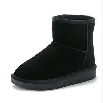 Hot Sale Girl Winter Boots Ankle Snow Boots Child Baby Shoes Plush Thicker Kids Boots Pu Leather Children #8217 s Shoes Girl Boots tanie i dobre opinie Skóra licowa Krowa mięśni 13-18 M 19-24 M 2-3Y 4-6Y 7-9Y Zima Buty śniegu Szycia Mieszkanie z Pluszowe Unisex Pasuje prawda na wymiar weź swój normalny rozmiar