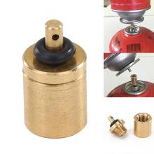 CylinderFilling Butane Canister Gas Refill Adapters Copper Outdoor Camping St 9K