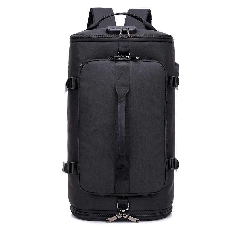Сумка через плечо для мужской молодежной супер большой емкости Дорожная сумка для отдыха на открытом воздухе Компьютерная сумка через плечо для мужской путешествий модная сумка