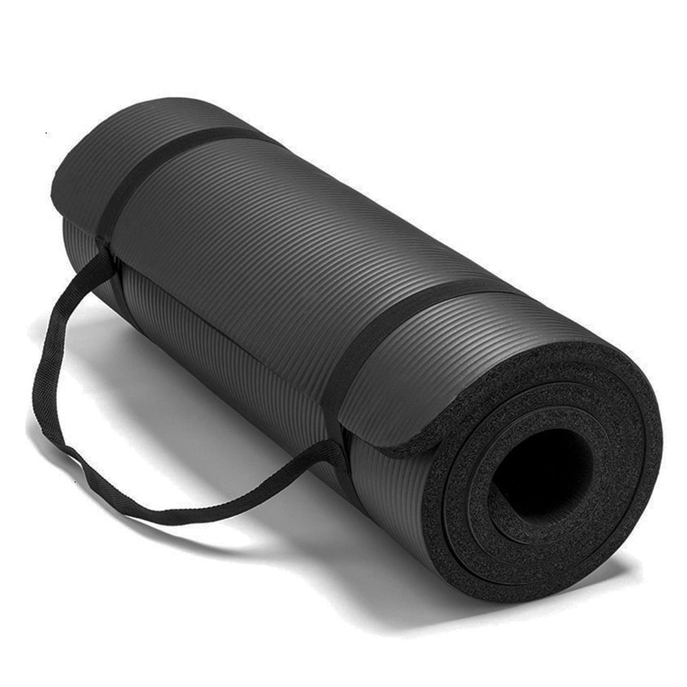 183x61cm Fitness Yoga Mat 10/15/20mm Thickness Thicken Non-slip Yoga Mat Sports Gym Pad Bodybuilding Thickened Dance Mat