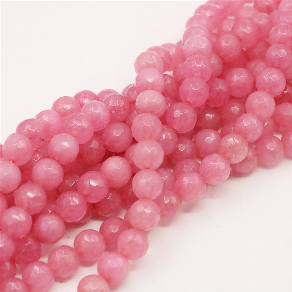 pink chalcedony cabochon Gemstone 10 Pieces 8mm Pink Chalcedony Cabochon Round Gemstone Pink Chalcedony Round Cabochon Gemstone